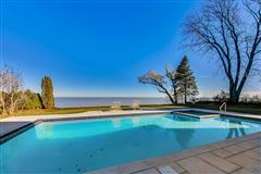 Luxury real estate magnificent lakefront property in East Kenilworth