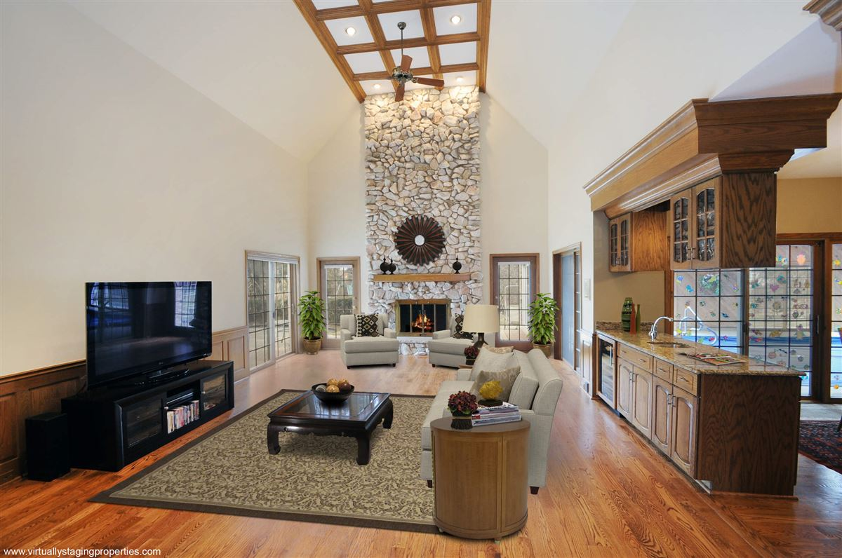 Luxury real estate magnificent french manor home in Northfield