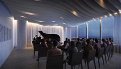 Luxury homes in a beautiful design and dramatic views