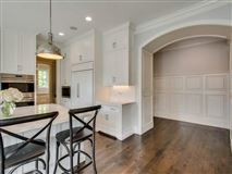Luxury homes in a private property in the woodlands