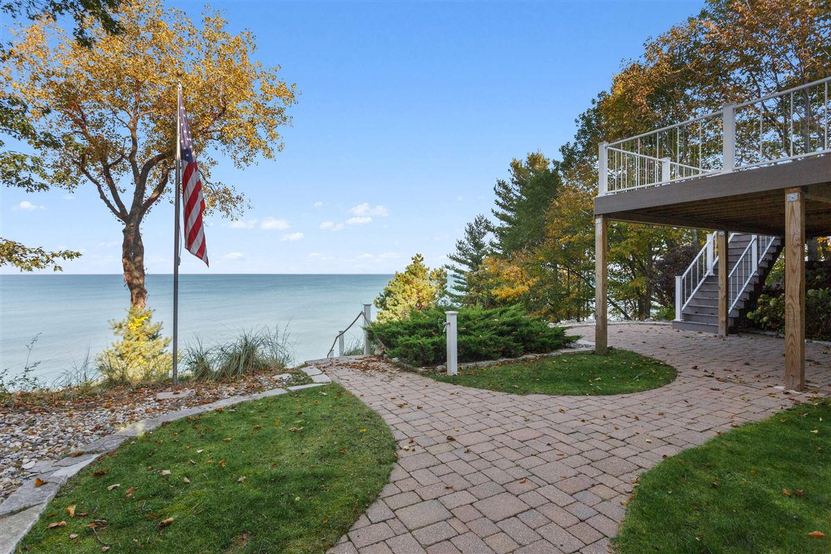 Luxury properties spectacular Lake Michigan home with sandy beach