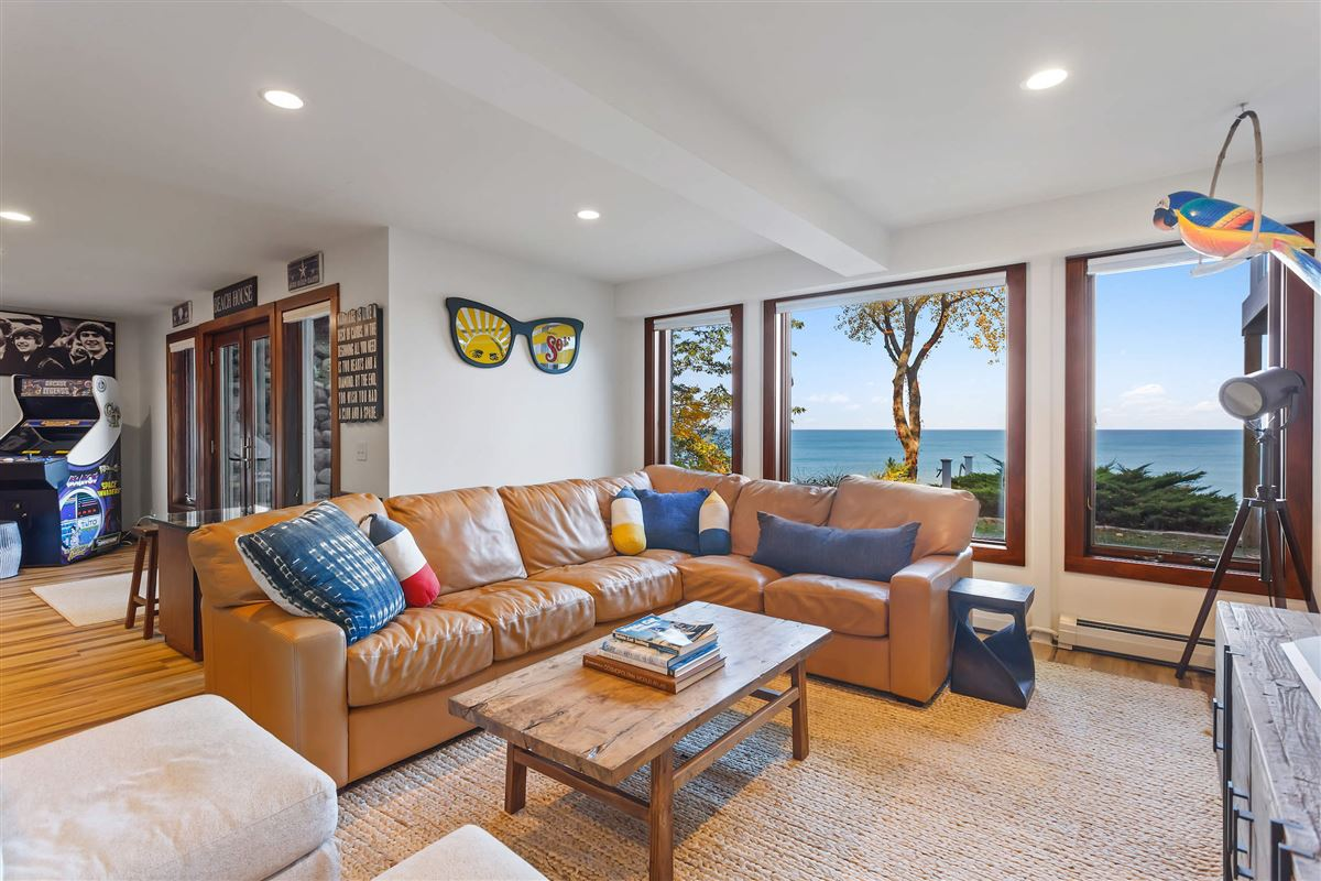 Mansions spectacular Lake Michigan home with sandy beach