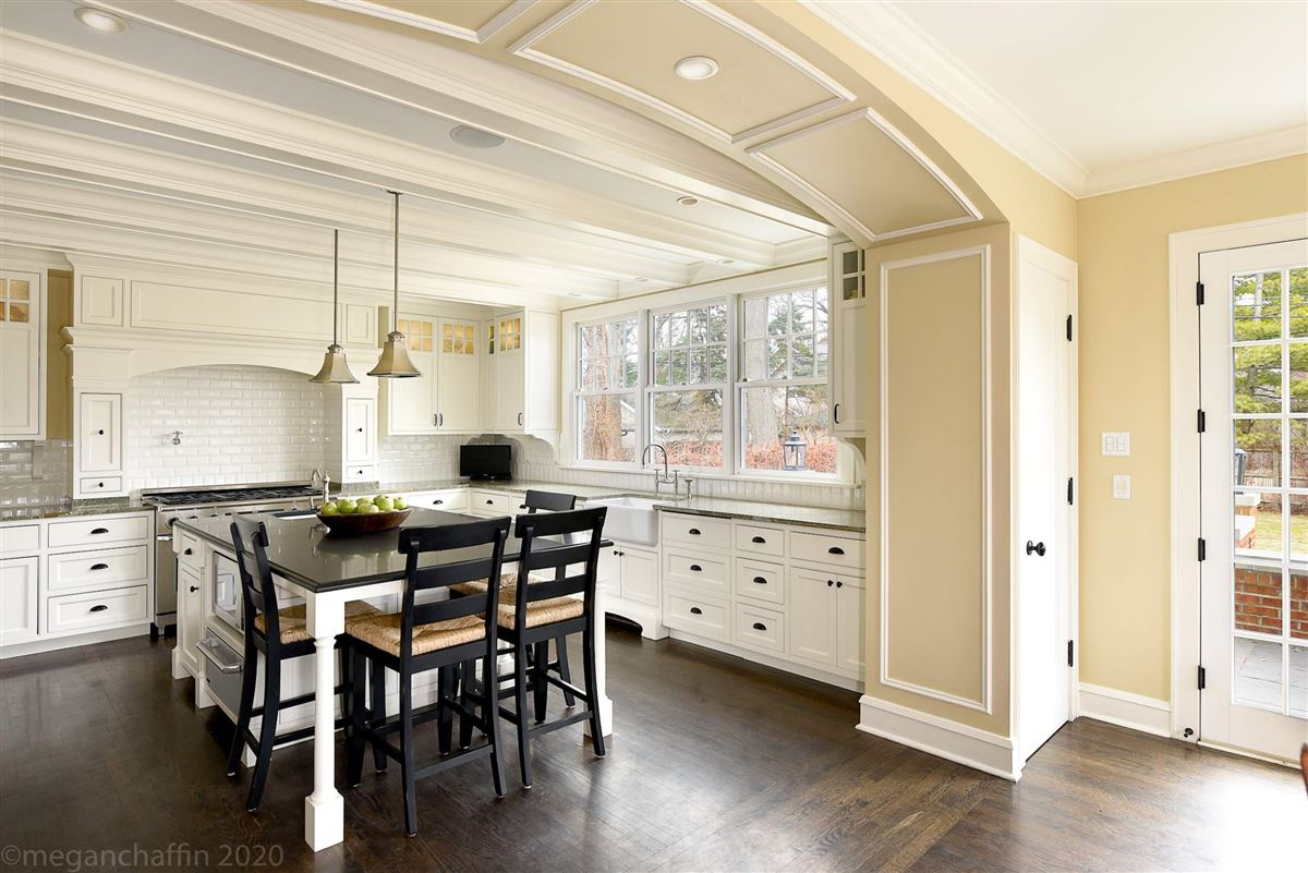 Luxury homes in beautifully renovated classic East Wilmette colonial