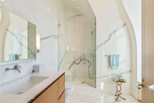 Luxury real estate architecturally significant penthouse at L P 2550