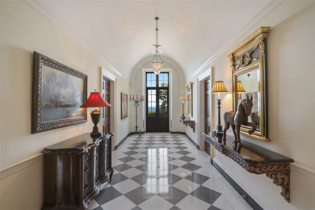 Luxury homes magnificent estate is set on five acres
