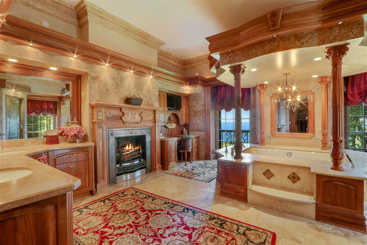 magnificent estate is set on five acres luxury real estate