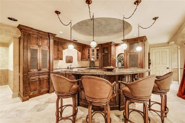 Luxury homes in Magnificent French Provincial Residence on gorgeous grounds