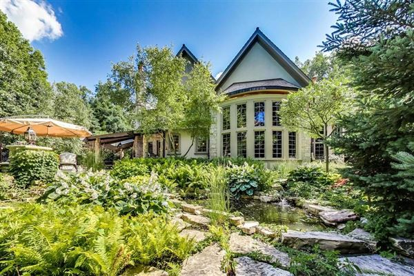 Luxury real estate Magnificent French Provincial Residence on gorgeous grounds