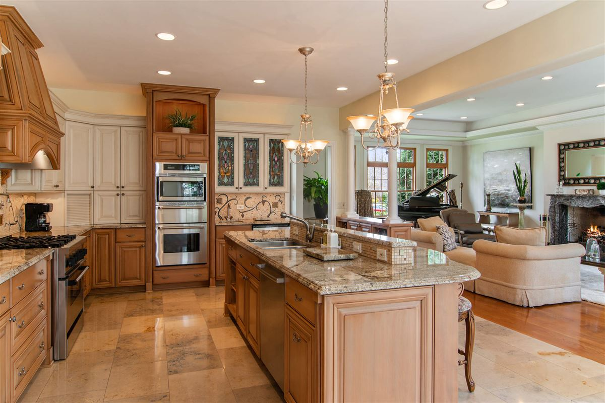 Luxury real estate an elegant custom home