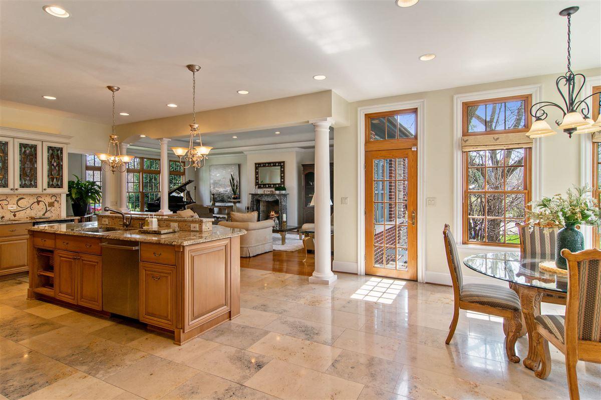 an elegant custom home  luxury real estate