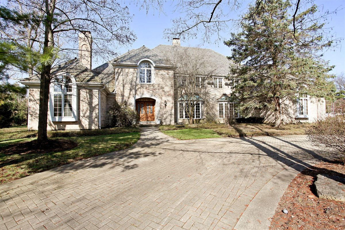 magnificent french manor home in Northfield luxury real estate