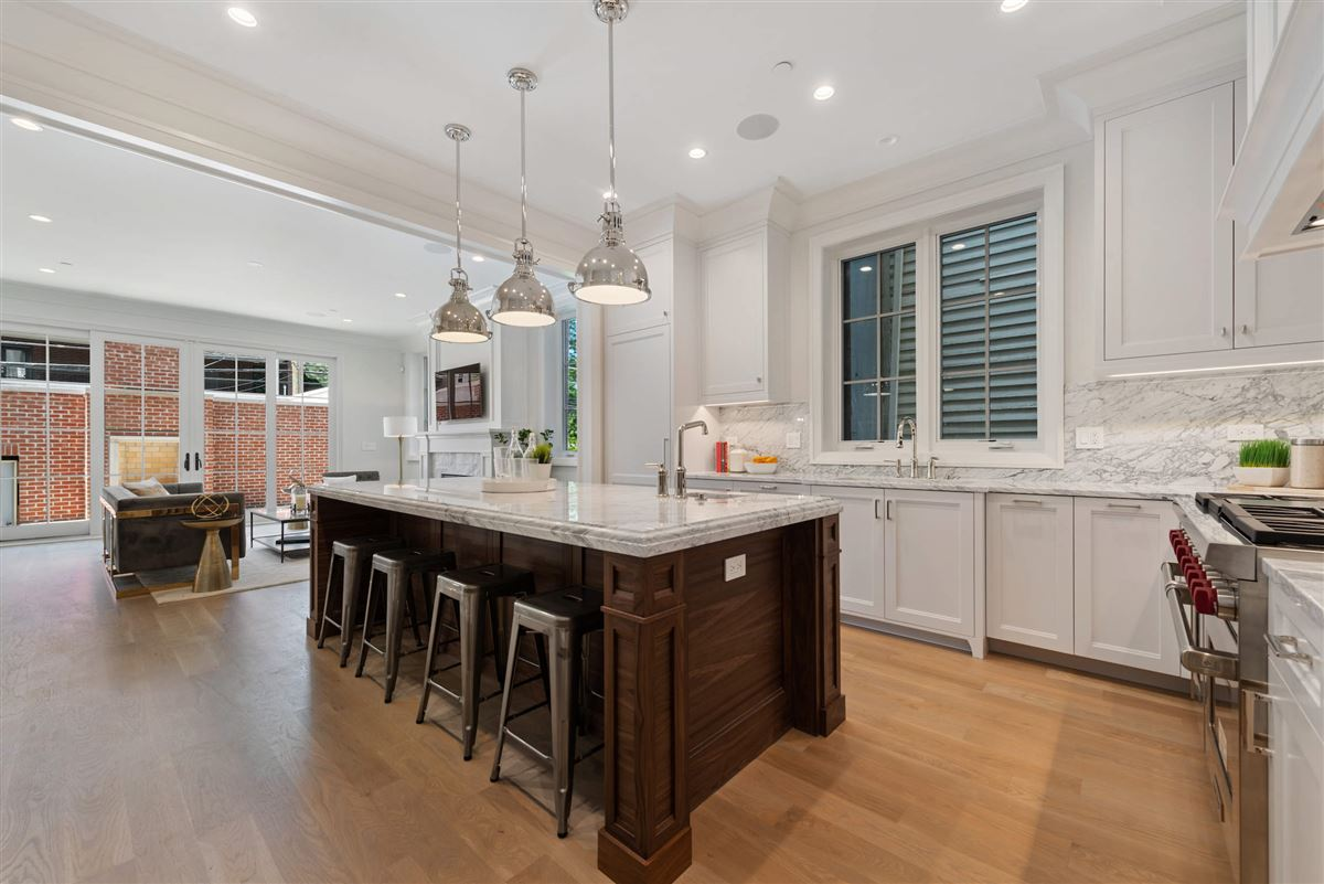 Luxury real estate an Exceptional brick and limestone home