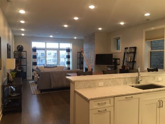 Luxury homes a sweet penthouse condo with great natural light
