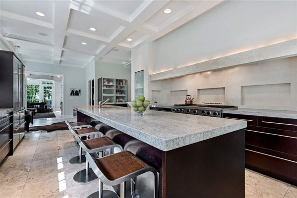 Mansions in ultra chic East Kenilworth home