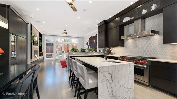 Luxury real estate a fabulous Lincoln Park block