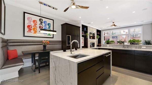 Luxury properties a fabulous Lincoln Park block