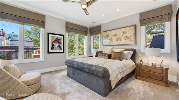 Luxury homes a fabulous Lincoln Park block