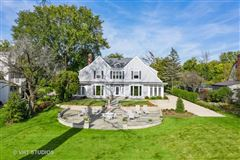 Stunning property on Winnetka Golf Course mansions