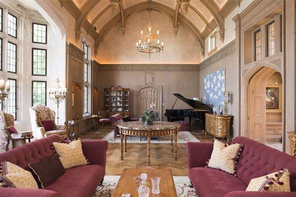 magnificent estate overlooking Lake Michigan luxury properties