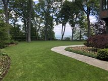Luxury homes magnificent estate overlooking Lake Michigan