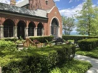Luxury real estate magnificent estate overlooking Lake Michigan