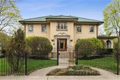 Grand Mediterranean style brick Colonial home  mansions