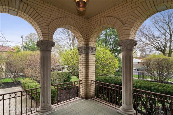 Grand Mediterranean style brick Colonial home  luxury properties