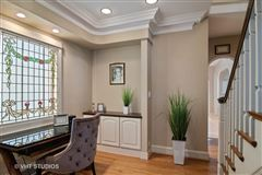 Grand Mediterranean style brick Colonial home  luxury real estate