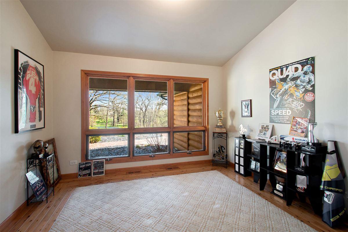 Luxury properties custom log cabin home