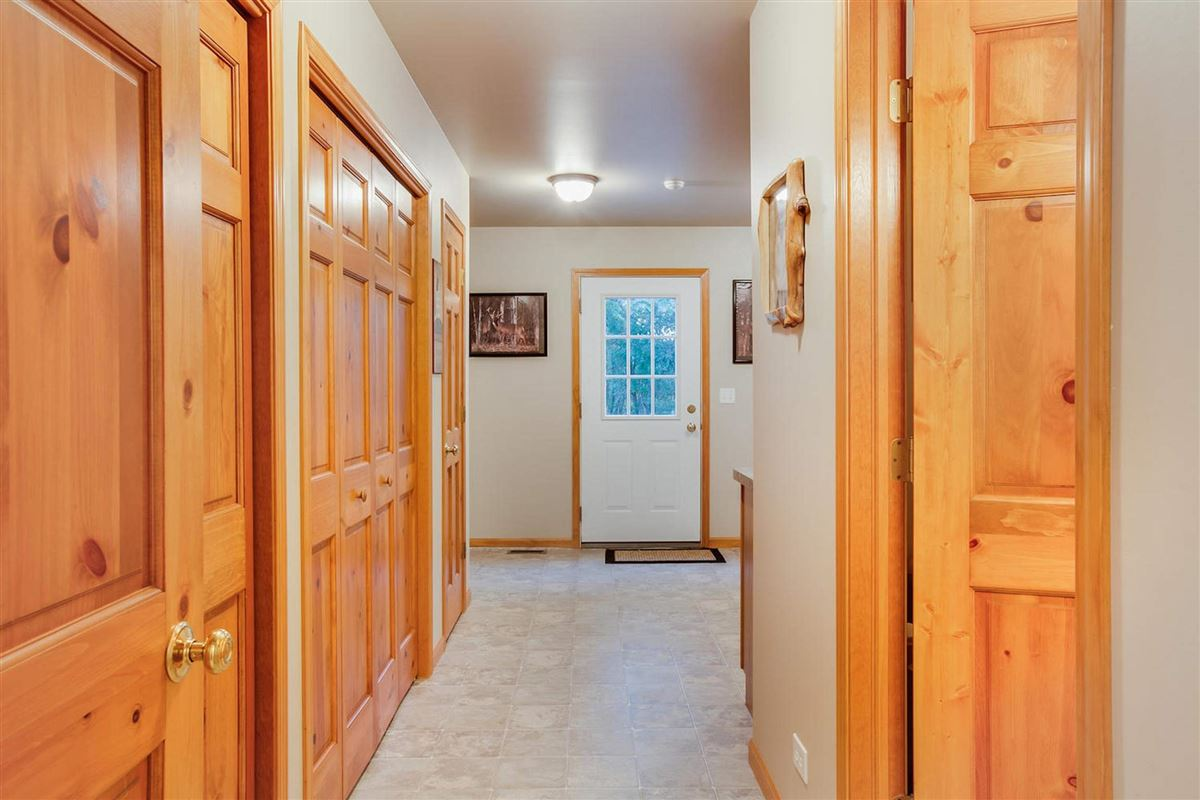Mansions custom log cabin home
