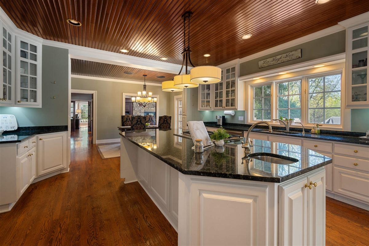 Mansions Stone and cedar Cape Cod home