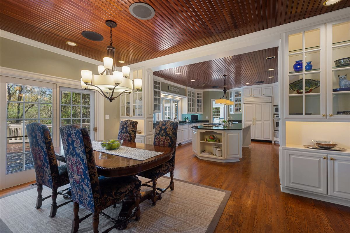 Luxury homes in Stone and cedar Cape Cod home