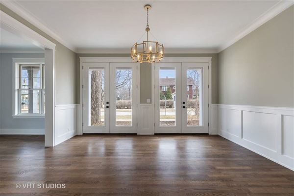 Superb new construction home with exquisite finishes throughout luxury real estate