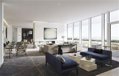 Mansions in luxury four bedroom penthouse at 1000M
