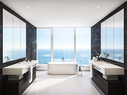 Luxury real estate luxury four bedroom penthouse at 1000M