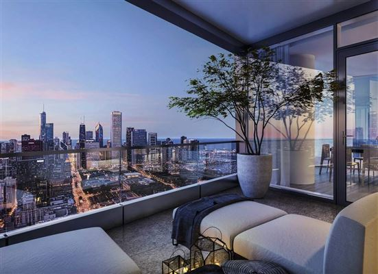 Mansions luxury four bedroom penthouse at 1000M