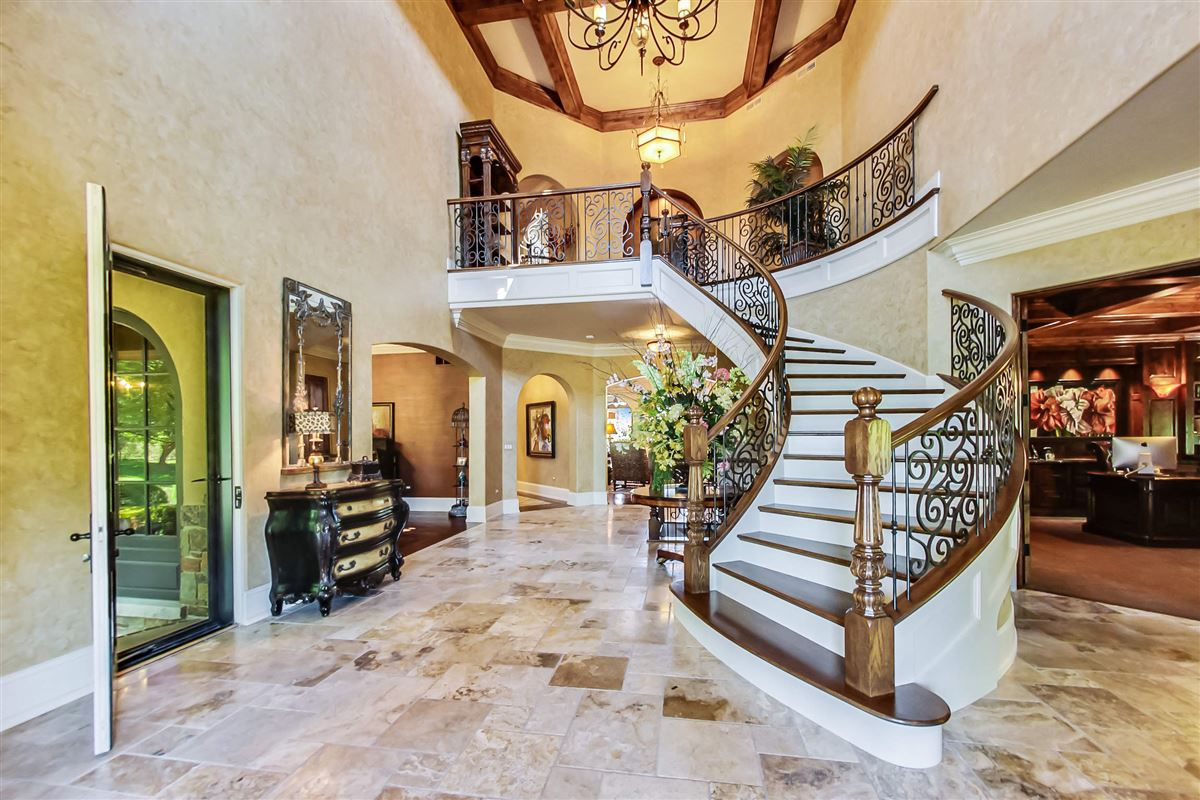 Luxury real estate one-of-a-kind Italian inspired home