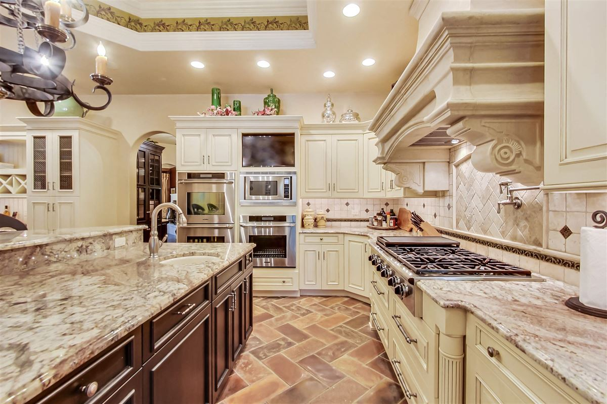 Luxury homes in one-of-a-kind Italian inspired home