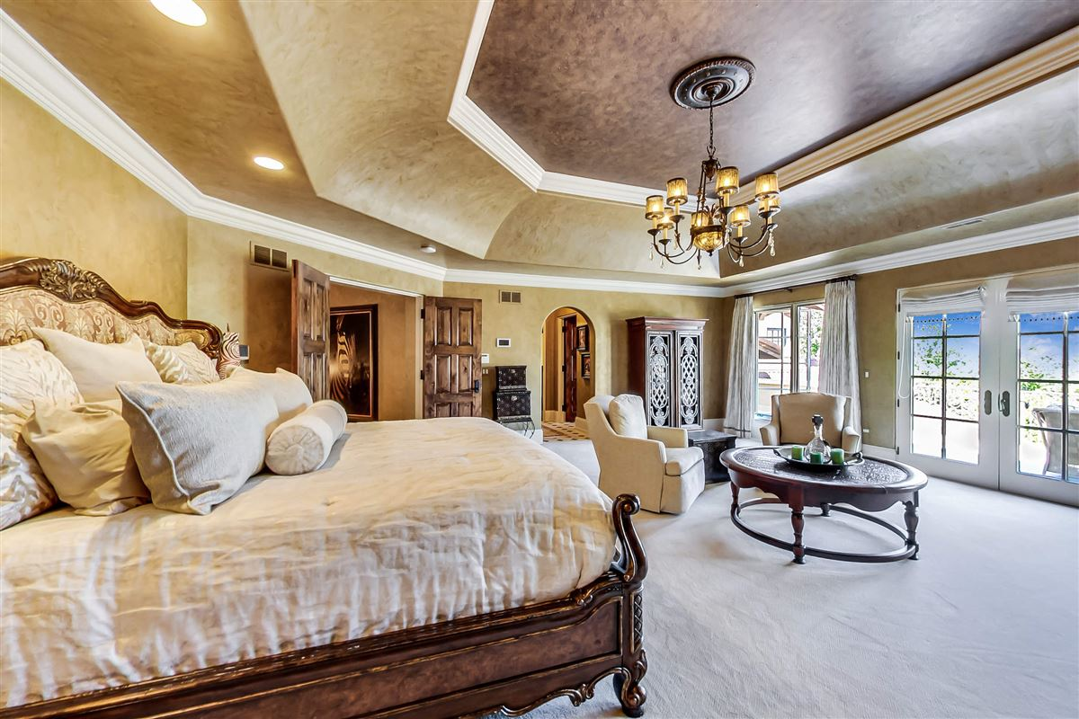 Luxury properties one-of-a-kind Italian inspired home