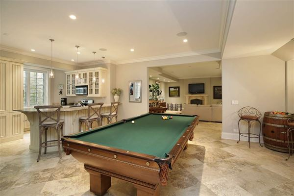 Luxury real estate recently built classic home