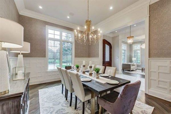 Luxury real estate Magnificent home in GLENCOE