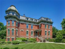 Luxury real estate outstanding Victorian home in Illinois