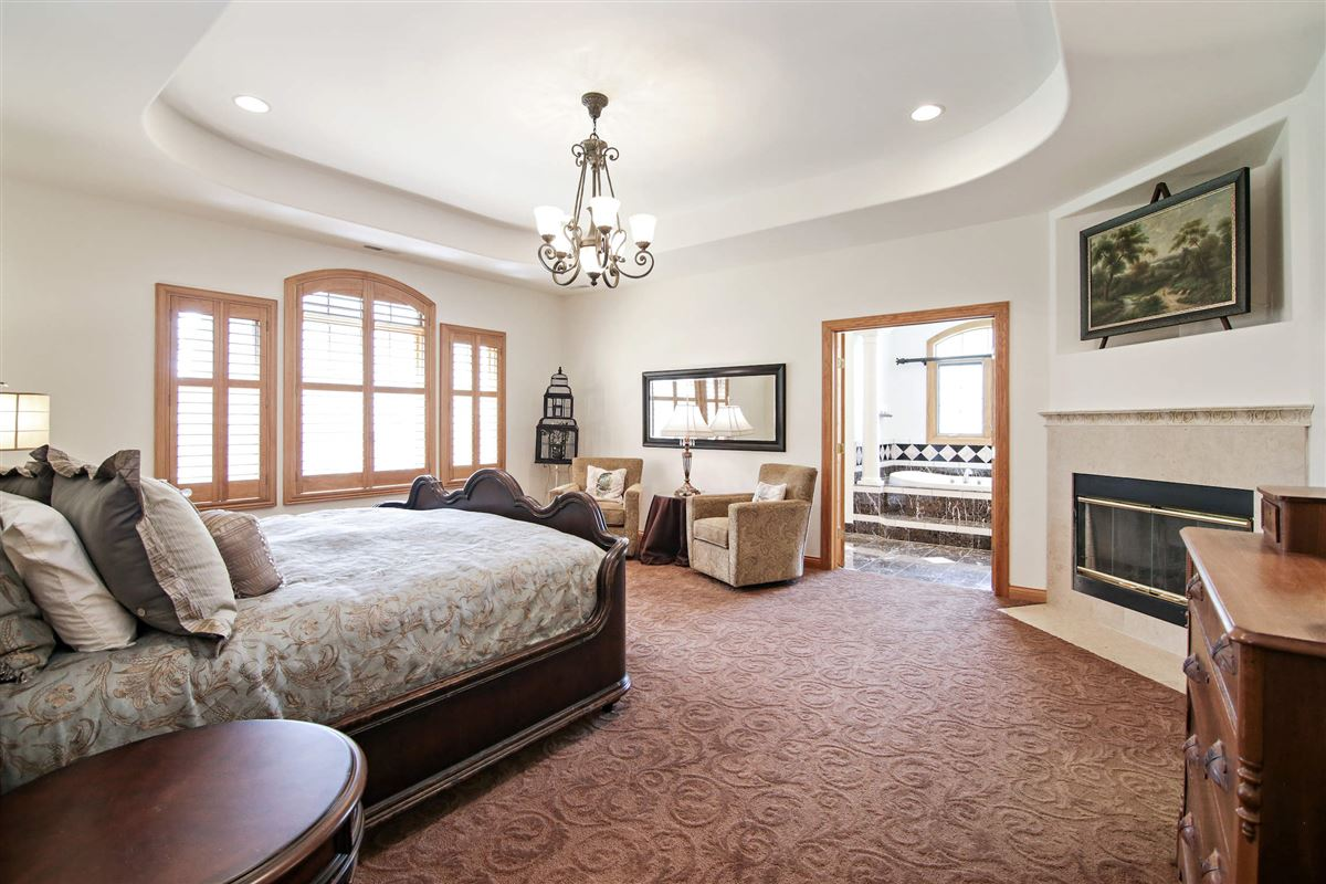 Luxury real estate striking and spacious home