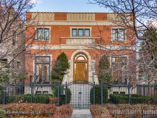 REMARKABLE DOUBLE LOT LINCOLN PARK HOME | Illinois Luxury Homes | Mansions  For Sale | Luxury Portfolio