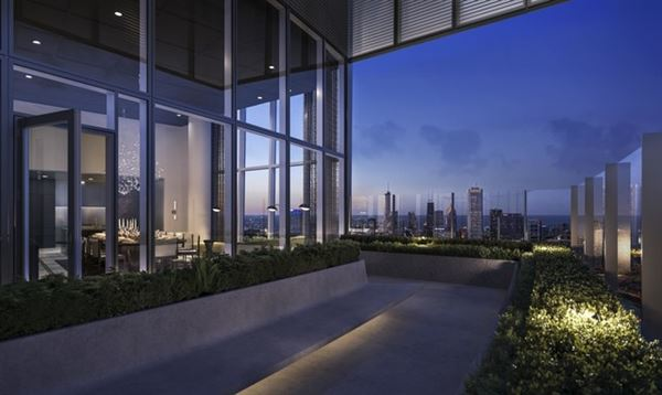 Luxury real estate Brand new luxury high rise on Michigan Avenue