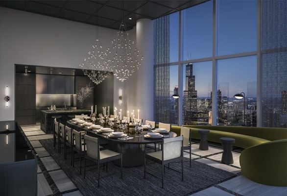 Brand new luxury high rise on Michigan Avenue luxury real estate