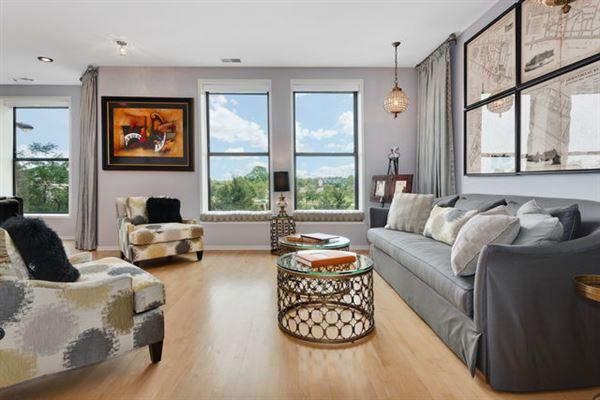 Elegant condo in South Loop luxury real estate
