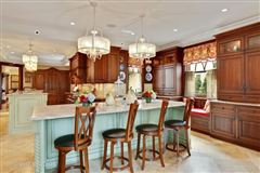 Luxury homes in extensively renovated mansion