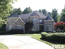 Luxury homes in a grand estate in Raleigh