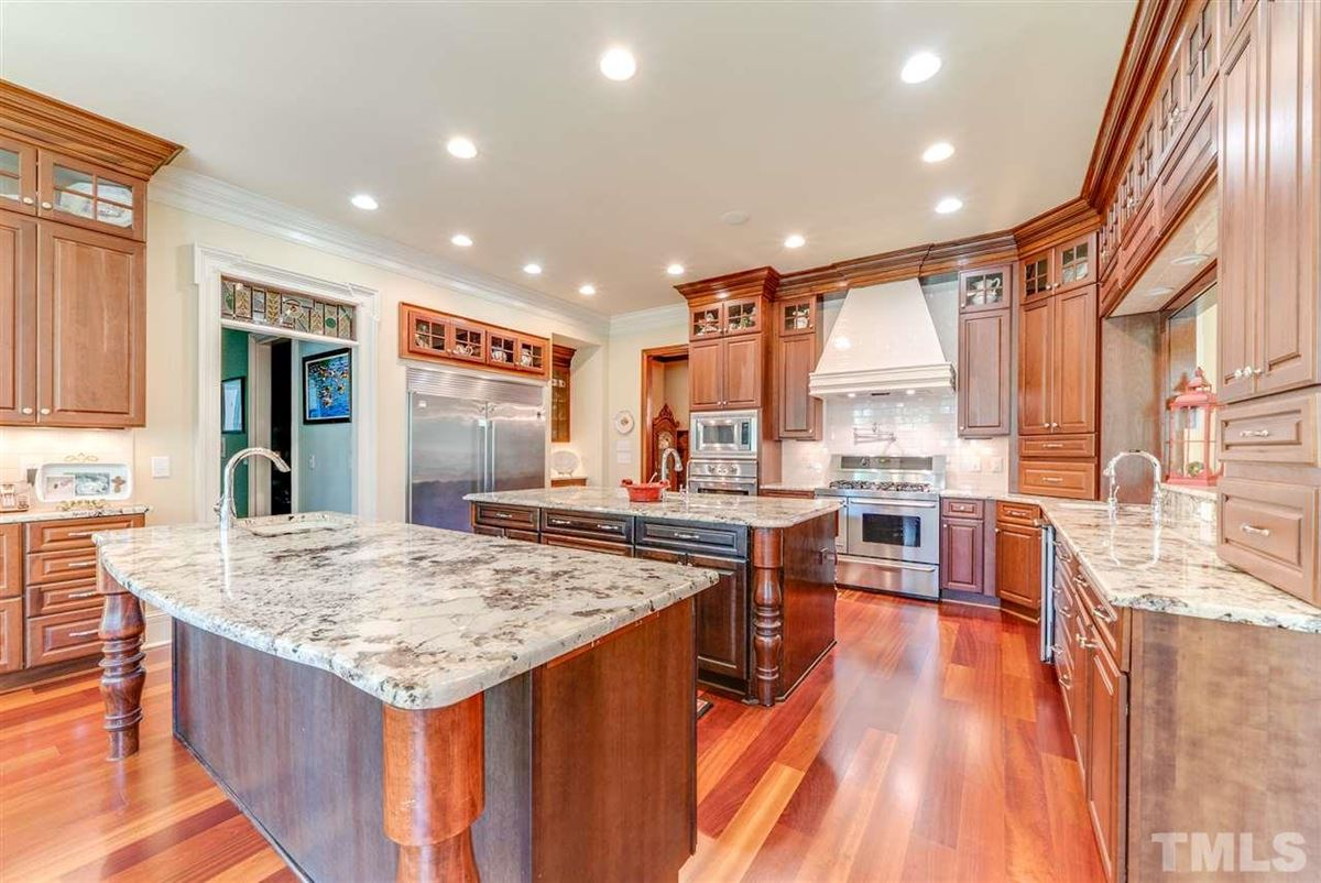stunning, custom built home in cary luxury homes